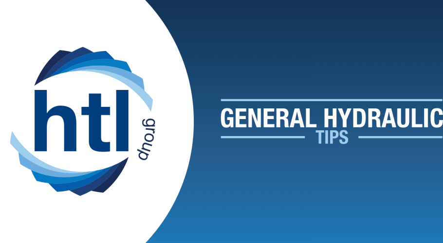 General Hydraulic Tips