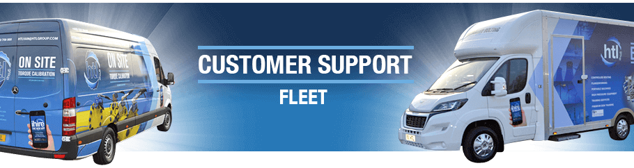 HTL's Customer Support Fleet are on the move!