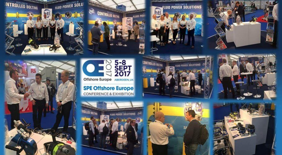 Thank you for visiting HTL Group at SPE Offshore Europe 2017