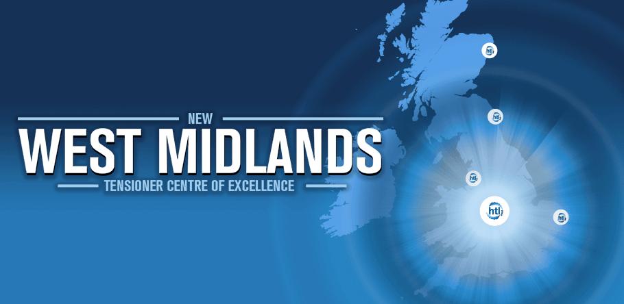 New West Midlands Tensioner Centre of Excellence for OEM HTL Group