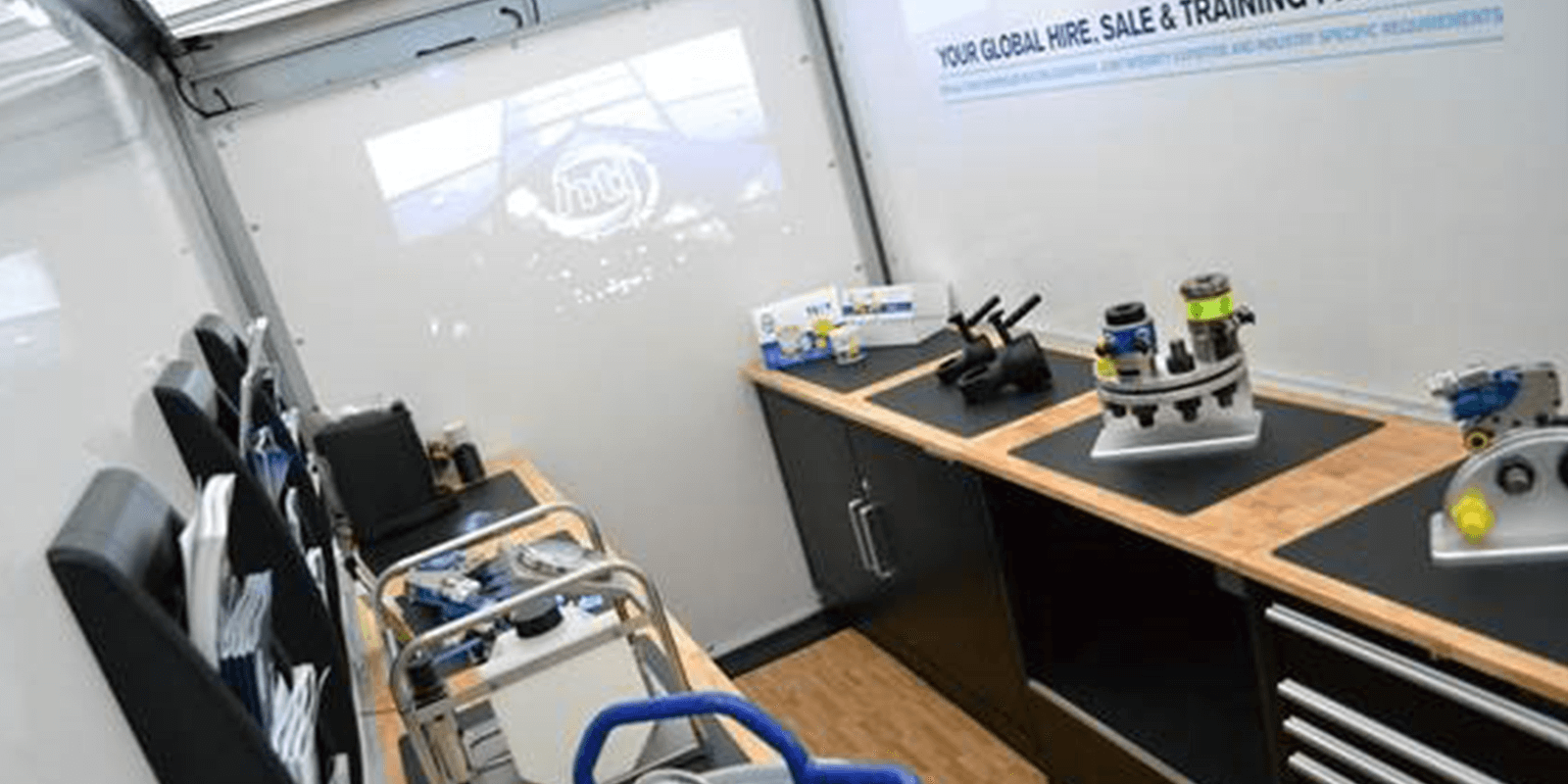 Expo Van Inside Product Gallery