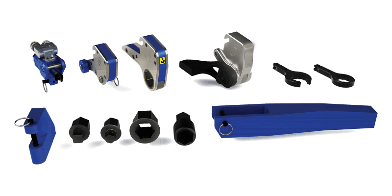 3-in-1 Torque Wrench Accessory Range