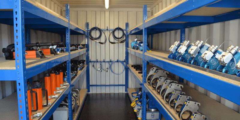 Onsite Tool Storage Units