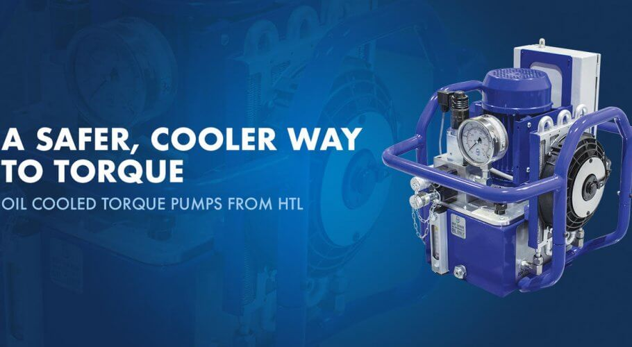 Hydraulic Torque Pump with Oil Cooler
