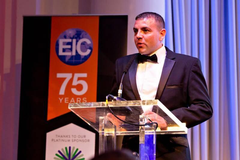 The EIC National Awards Dinner 2019 Marc Gerrard