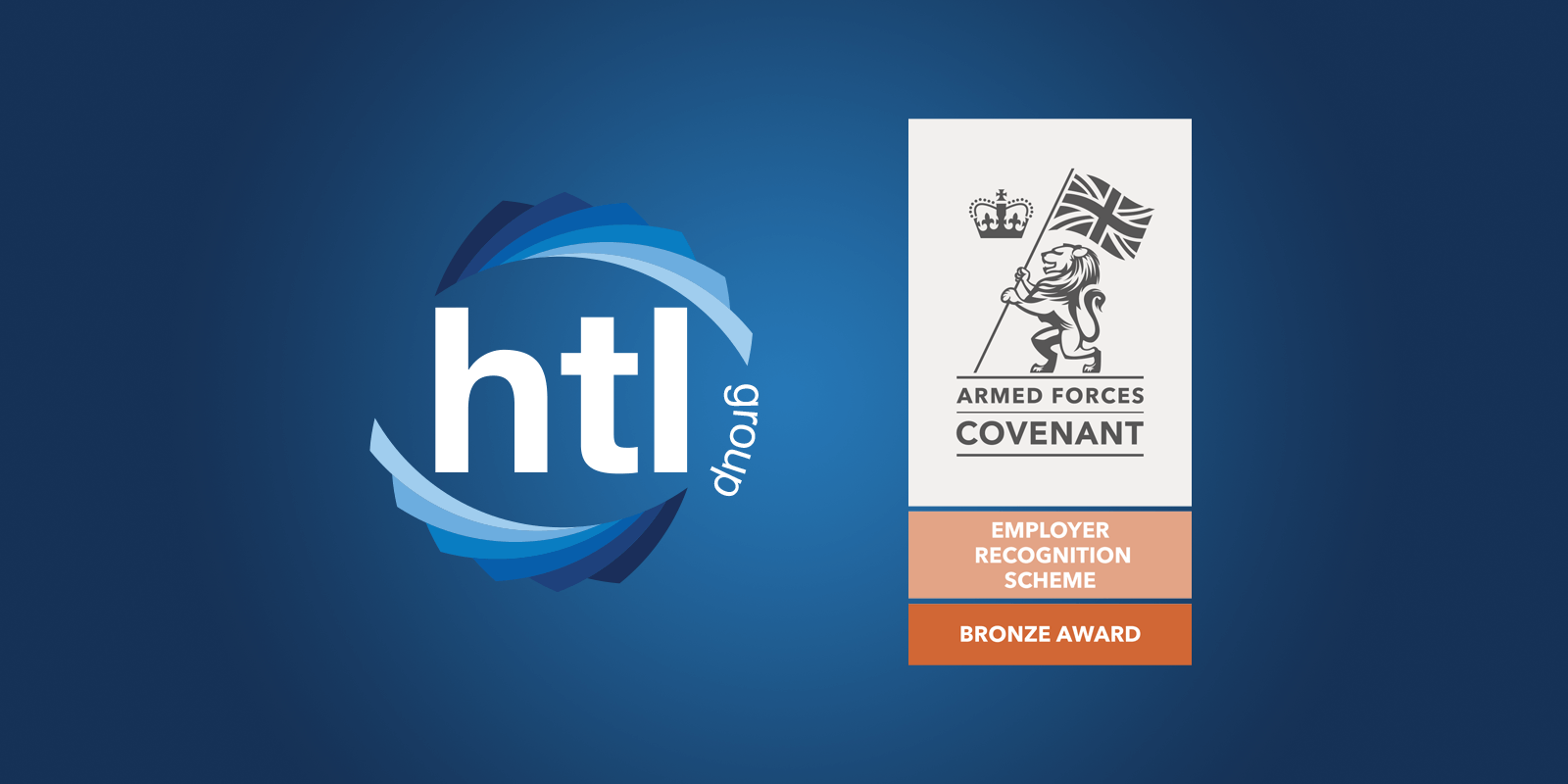 HTL is awarded the Bronze Award for the Employer Recognition Scheme