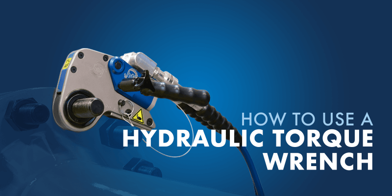 how to use a hydraulic torque wrench
