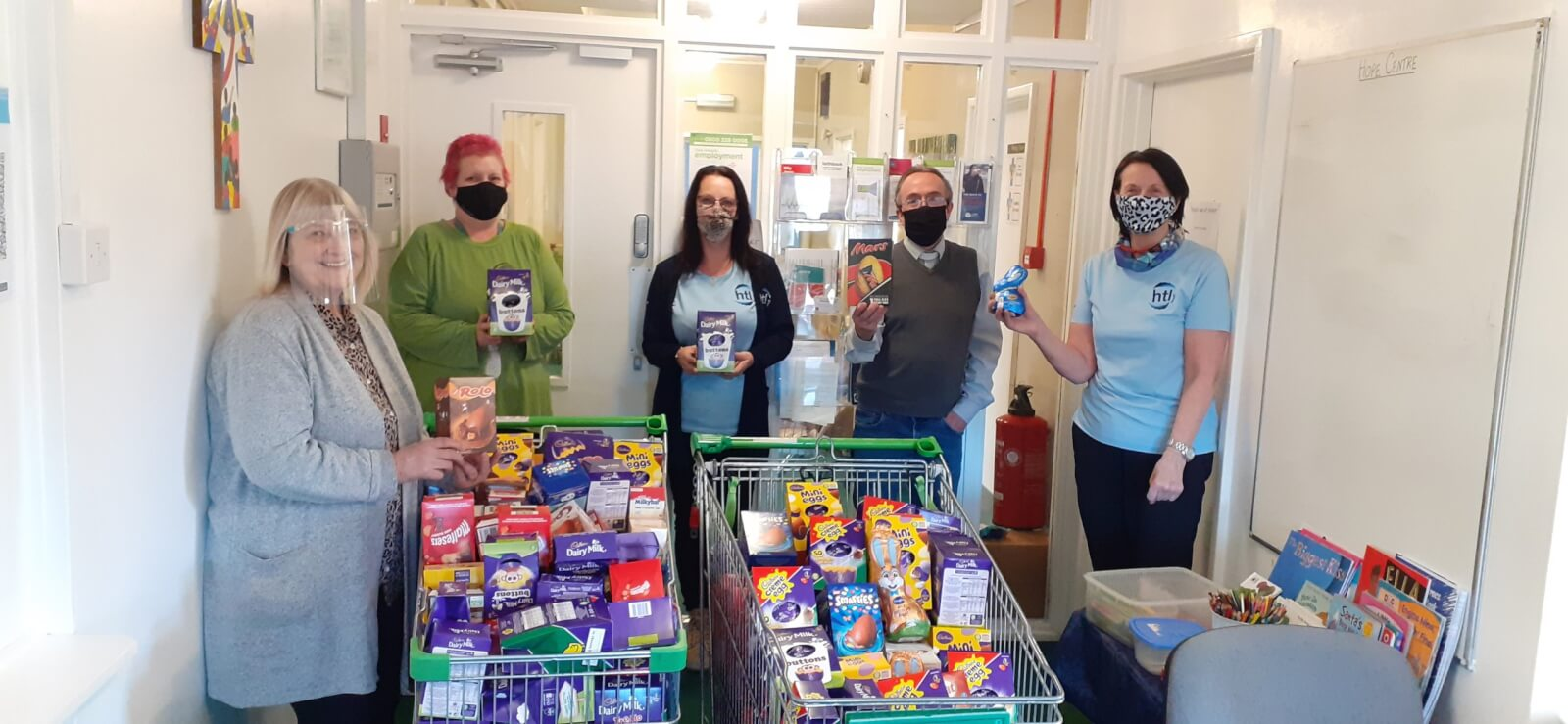Easter Egg Donations for Local Food Bank