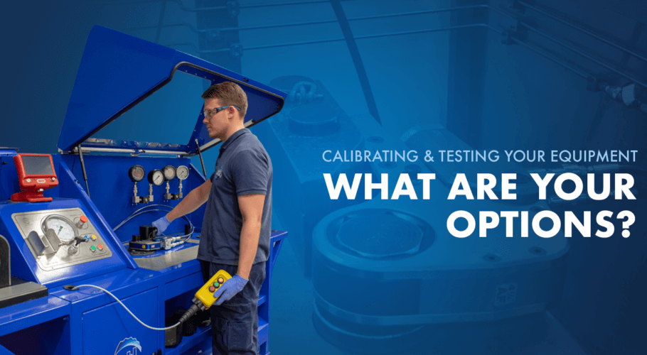 Calibrating and Testing Your Equipment: What are Your Options?