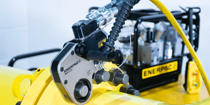 Enerpac HMT-Series Torque Wrench Application