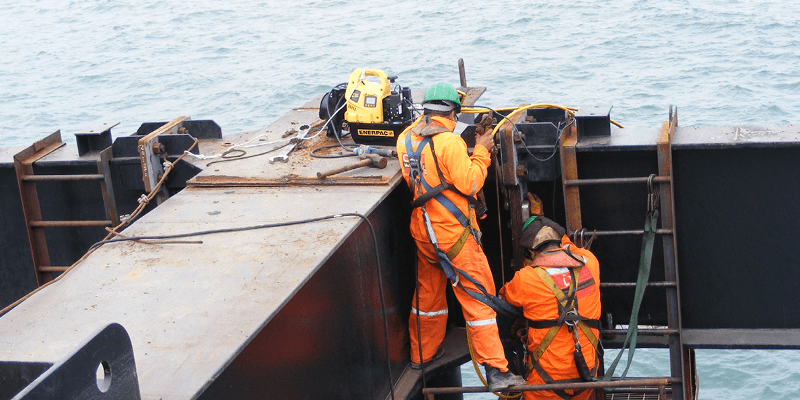 Enerpac Offshore Application